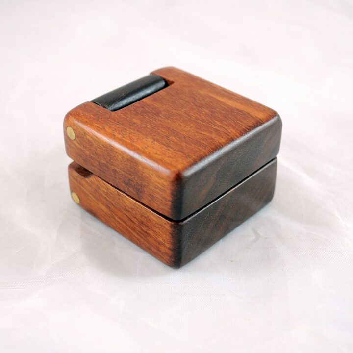 Ring Box - Koa & Wenge