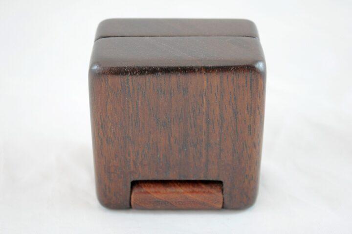 Ring Box - Peruvian Walnut & Jatoba - Bottom