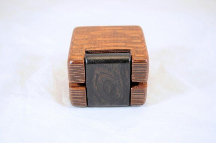 Leopardwood & African Blackwood #141 - Hinge