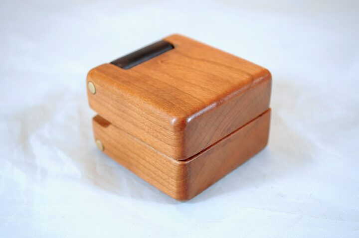 ERB-144 Black Cherry & Roasted Curly Maple - Main