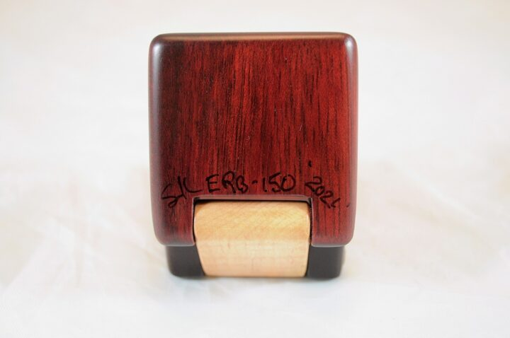 ERB-150 Bloodwood & Curly Soft Maple - Bottom