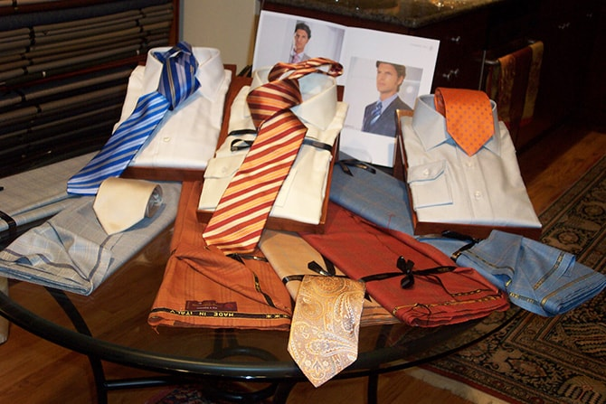 Fabric for Custom Menswear | Executive Wardrobe by Lou Deal
