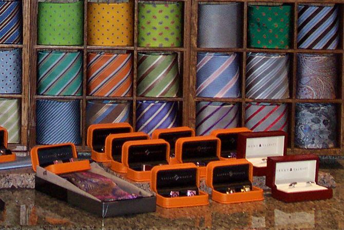 High End Ties And Cuff Links | Executive Wardrobe by Lou Deal
