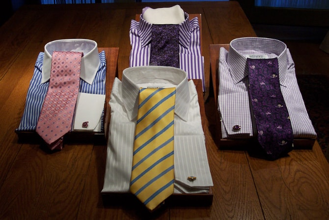 Made to Order Shirts   Executive Wardrobe by Lou Deal