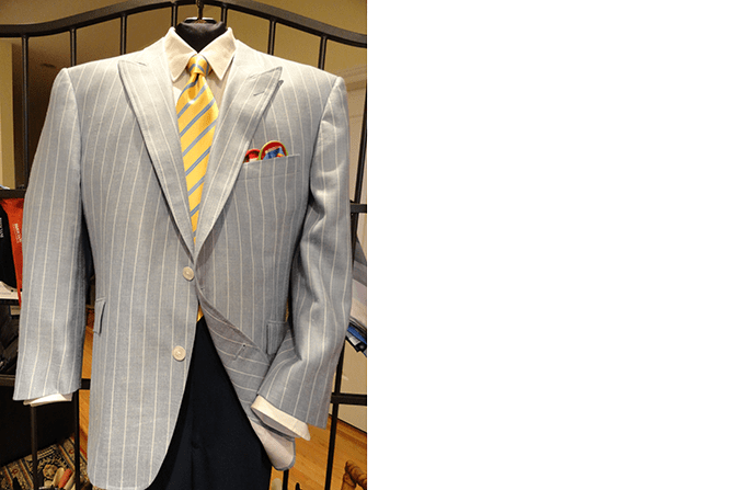 Tailored Sport Coats | Executive Wardrobe by Lou Deal