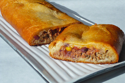 Baked Mexi-Cal Turkey Roll