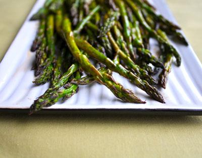 Roasted Asparagus | Black Girl Chef's Whites