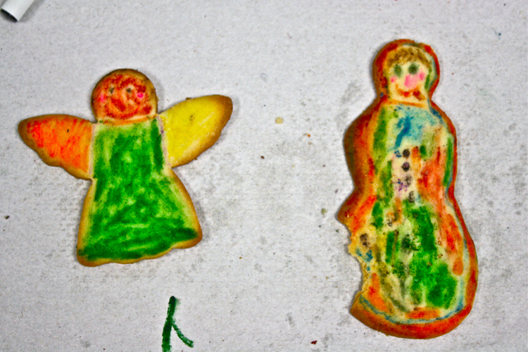 Christmas Cookies by 5 Year Old Kids | Black Girl Chef's Whites