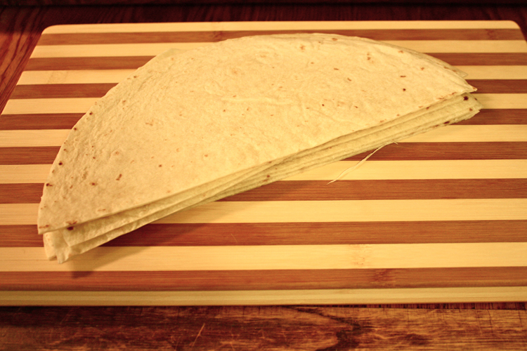tortilla half