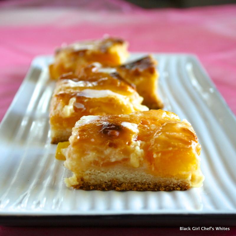 Peach Pie Cookie Bars | Black Girl Chef's Whites