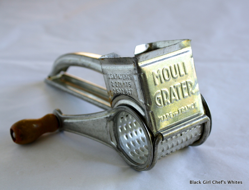 Antique Cheese Grater | Black Girl Chef's Whites