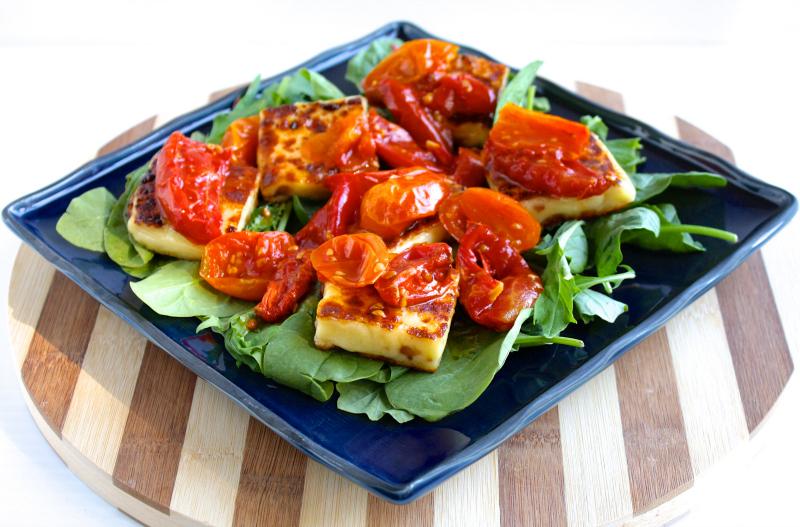 The BCLT Salad | Black Girl Chef's Whites