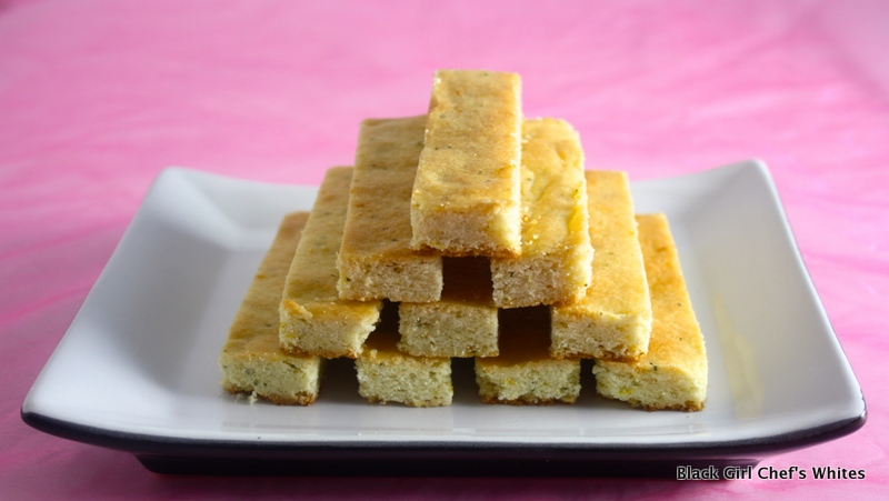 Meyer Lemon Rosemary Bars | Black Girl Chef's Whites