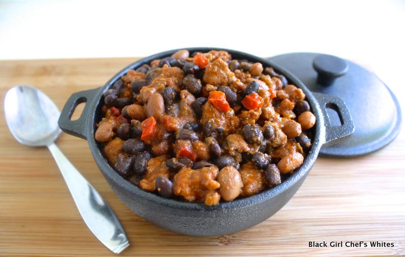 Chorizo and Bean Chile | Black Girl Chef's Whites