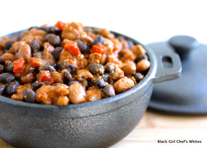 Chorizo and Bean Chili | Black Girl Chef's Whites