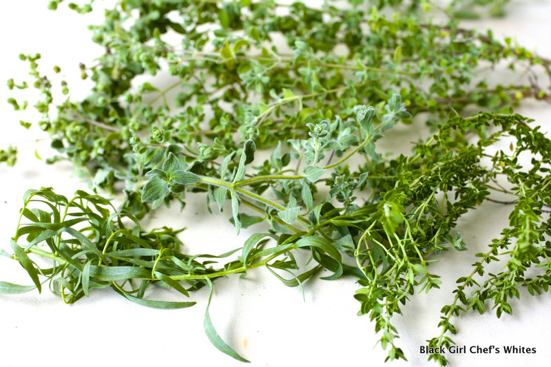 Organic Herbs | Black Girl Chef's Whites