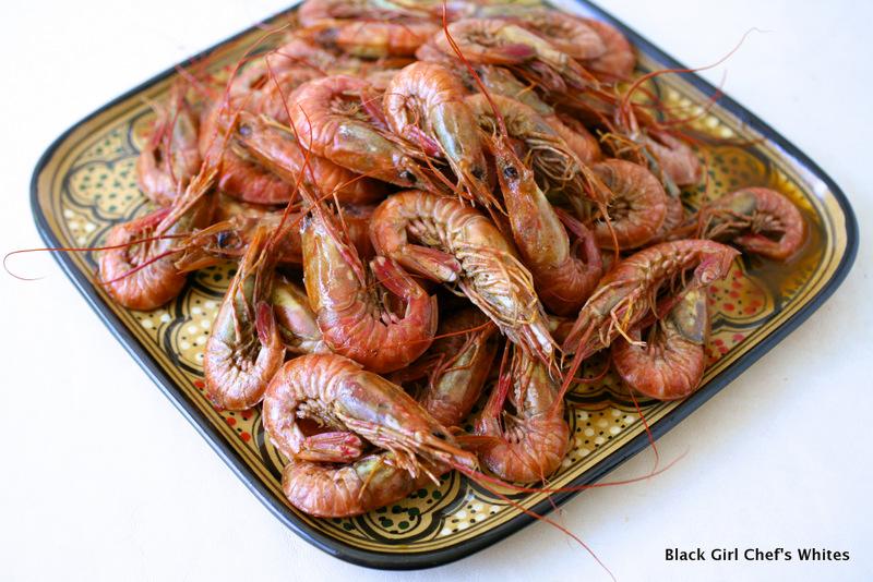 Shrimp in Spiced Butter-Beer Sauce | Black Girl Chef's Whites