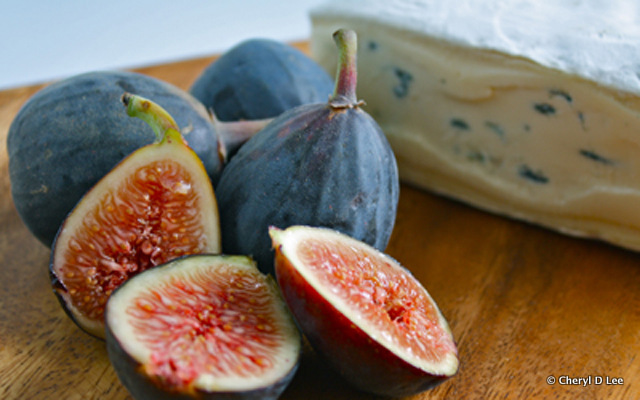 Fig and Cheese Still Life | Black Girl Chef's Whites
