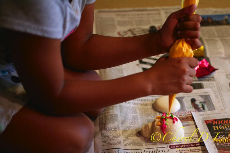 Dia de los Muertos Sugar Skulls | Black Girl Chef's Whites