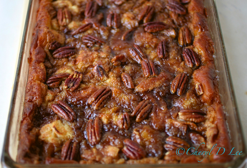 Cinnamon Pecan Baked French Toast | Black Girl Chef's Whites