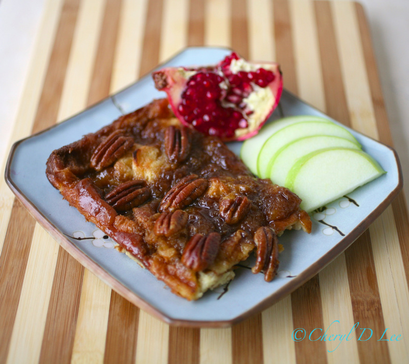 Baked Cinnamon Pecan French Toast | Black Girl Chef's Whites