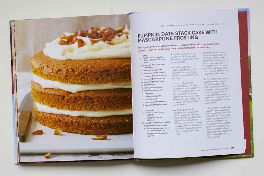 Dairy Good Pumpkin Mascarpone Cake