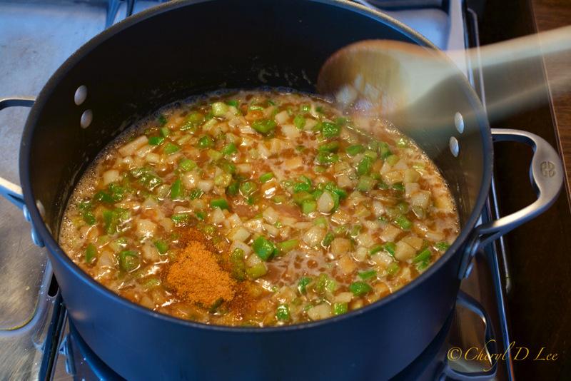 Add Creole seasoning to gumbo