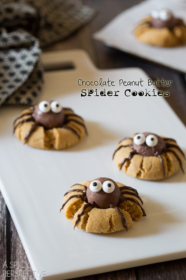 Spider Cookie found on A Spicy Perspective