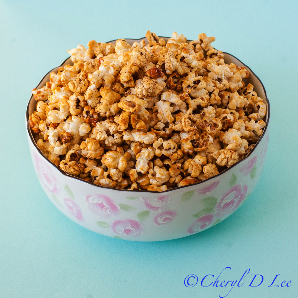 Sweet and Spicy Chipotle Kettle Corn