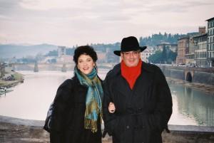 Michael Recchiuti and Elizabeth Blancke-Biggs