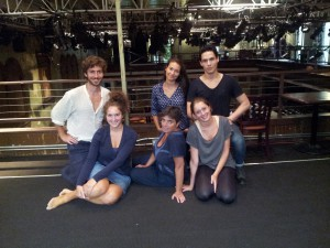 from left Jacopo Rampini, Giulia Bisinella, Laura Caparrotti, Carlotta Brentan, Ilaria Ambrogi, Francesco Andolfi, not in the photo Irene Turri, Lorenzo P