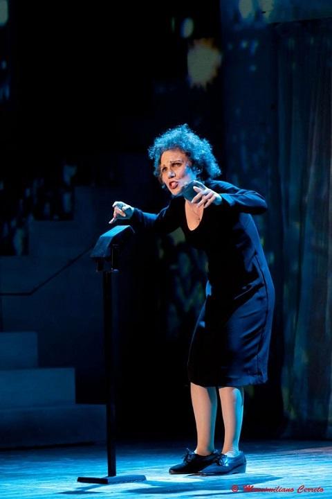 Foto di scena; Edith Piaf Lo Spettacolo