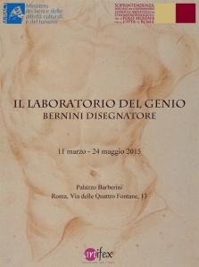locandina_Il laboratorio del genio. Bernini disegnatore 2015