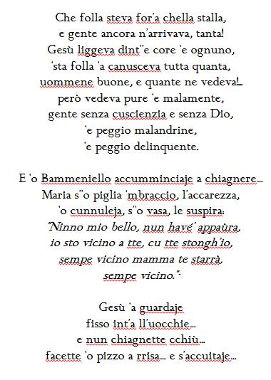 Poesie Di Natale In Siciliano.La Madonna Della Notte Di Natale Poesia In Dialetto Napoletano L Idea Magazine