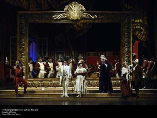 Fondazione Teatro La Fenice Barbiere di Siviglia Regia Bepi Morassi Photo ©Michele Crosera