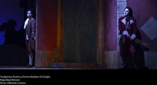 Il Conte D_Almaviva, Anicio Zorzi Giustiniani (tenore) e Figaro ,Davide Luciano (baritono)