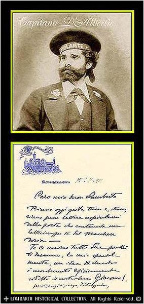 CAPTAIN ENRICO ALBERTO D'ALBERTIS