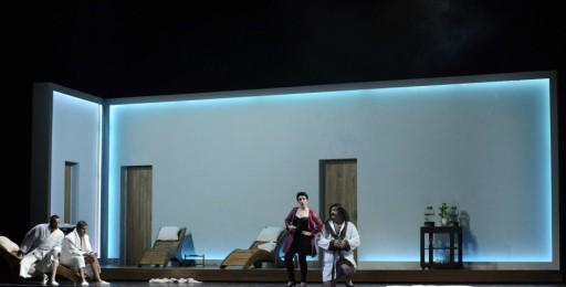 da sinistra: Bruno Taddia, Omar Montanari, Silvia Frigato e Marcello Nardis