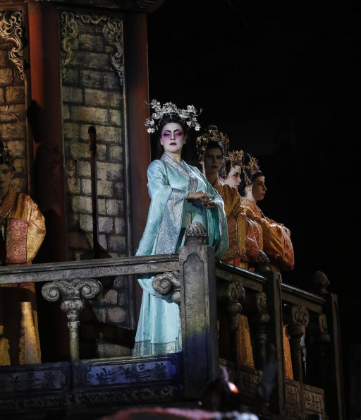 Oksana Dyka (Turandot)