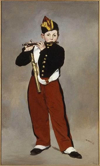 Le fifre Manet Edouard (1832-1883) Paris, musŽe d'Orsay