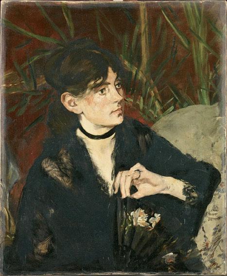 Ritratto di Berthe Morisot con ventaglio