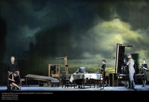 Fondazione Teatro La Fenice GAETANO DONIZETTI, LUCIA DI LAMMERMOOR Direttore Riccardo Frizza Regia Francesco Micheli Photo ©Michele Crosera