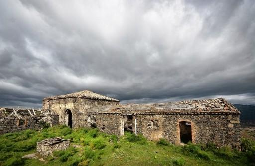 Masseria abbandonata lungo il percorso