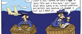 The Argyle Sweater's surrealistic view of life: An exclusive interview with cartoonist Scott Hilburn.
