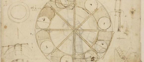 """The Mind of Leonardo. Leonardo's Designs from the Codex Atlanticus"""