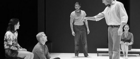 "A Beef Grows in Brooklyn. STAGE REVIEW:  ""A View from the Bridge"" by Arthur Miller"