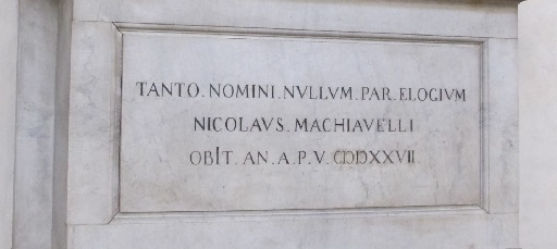 Advice From Nick (Niccolò Machiavelli) to the U.S. Presidential Candidates