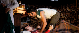 """Killing Time. STAGE REVIEW:  """"Holden"""" by Anisa George"""
