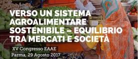 Verso un sistema agroalimentare sostenibile. Congresso dell'Associazione Europea degli Economisti Agricoli