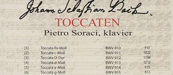 Le Toccate di Bach nel nuovo cd di Pietro Soraci